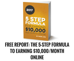 Free report - 5-step formula to earning 10k per month online