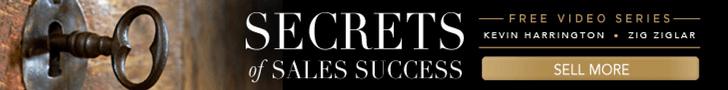 Secrets of Sales Success, free video series, Kevin Harrington and Zig Ziglar, Sell more