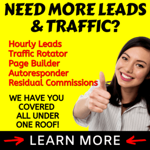 Need More Leads & Traffic? We Have You Covered All Under One Roof! Learn More